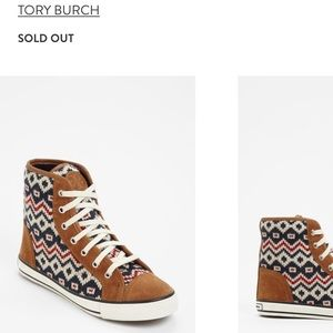 Tory Birch Noah Sneakers - Barely Used Size 8